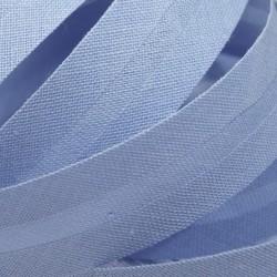 Šikmý proužek bavlněný - světle modrý 500155, šíře 20mm, 1m