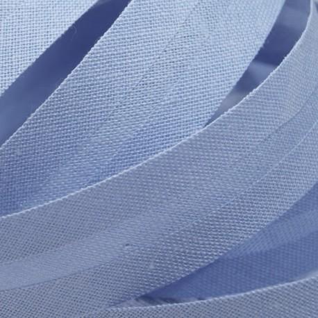 Šikmý proužek bavlněný - světle modrý 500155, šíře 20mm