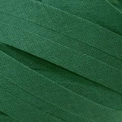 Šikmý proužek bavlněný - tmavě zelený 754551, šíře 20mm, 1m