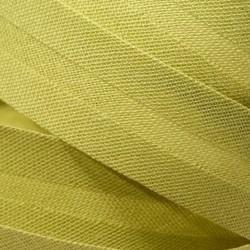 Šikmý proužek bavlněný - světle zelený 774151, šíře 20mm, 1m