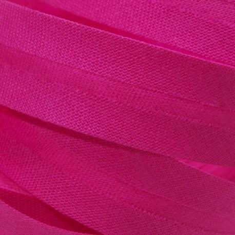 Šikmý proužek bavlněný - fialovočervený 327222, šíře 20mm