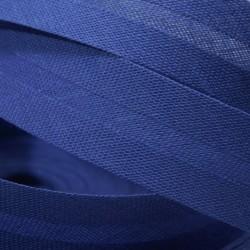 Šikmý proužek bavlněný - královsky modrý 500344, šíře 14mm, 1m