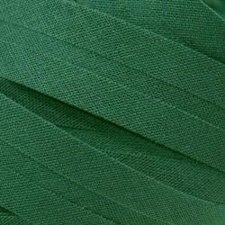 Šikmý proužek bavlněný - tmavě zelený 754551, šíře 14mm, 1m