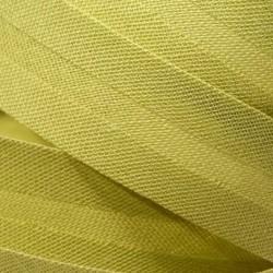 Šikmý proužek bavlněný - světle zelený 774151, šíře 14mm, 1m