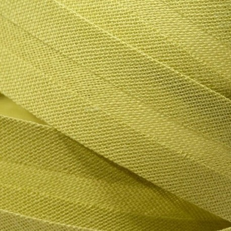 Šikmý proužek bavlněný - světle zelený 774151, šíře 14mm