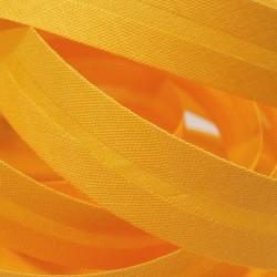Šikmý proužek bavlněný - vajíčkově žlutý 140547, šíře 14mm, 1m