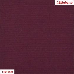 Kočárkovina, Červeně fialová, MAT 264, šíře 160 cm, 10 cm, Atest 1