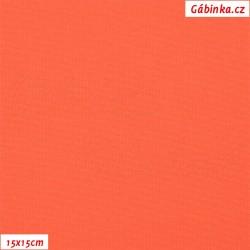 Kočárkovina, Tmavě oranžová, MAT 456, šíře 160 cm, 10 cm