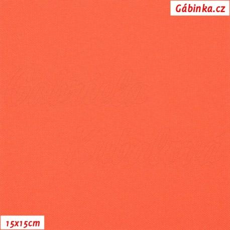 Kočárkovina, Reflexní oranžová, MAT 456, 15x15 cm