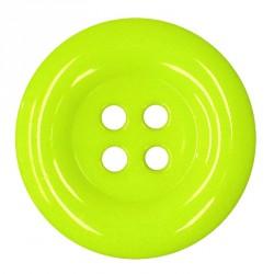 Knoflík 58 mm - reflexní žlutý, 1 ks