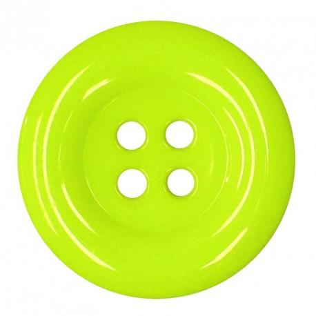 Knoflík 58 mm - reflexní žlutý