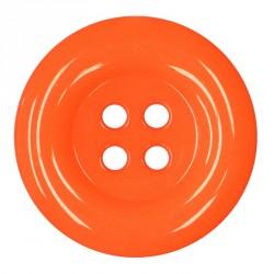 Knoflík 58 mm - reflexní oranžový, 1 ks