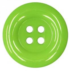 Knoflík 58 mm - zelený, 1 ks