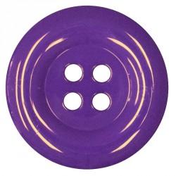 Knoflík 58 mm - fialový, 1 ks