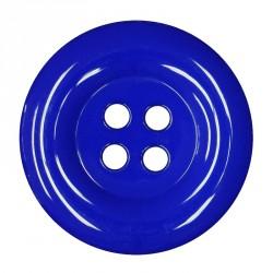 Knoflík 58 mm - královsky modrý, 1 ks