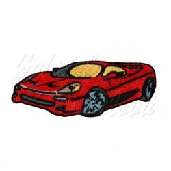 Nažehlovačka - červené auto