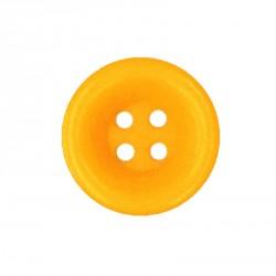 Knoflík 27 mm - oranžovožlutý, 1 ks