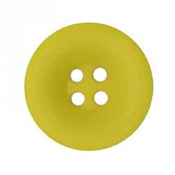 Knoflík 27 mm - žlutý, 1 ks