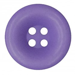 Knoflík 27 mm - fialový, 1 ks