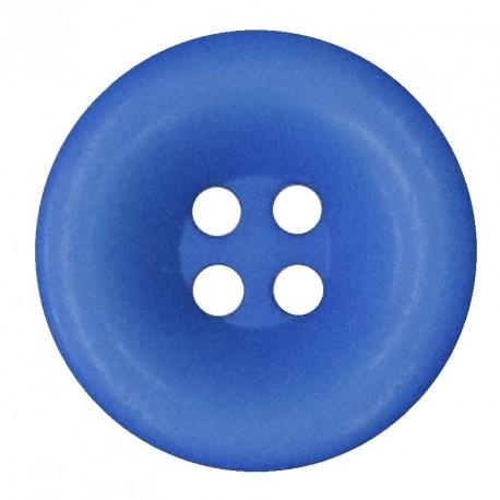 Knoflík 27 mm - modrý, 1 ks
