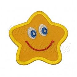 Nažehlovačka - Žlutá hvězdička