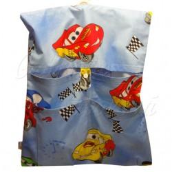 Dětský kapsář do školky - Cars modrá