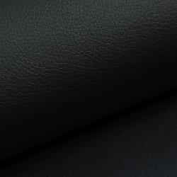 Zbytek - Koženka, černá, SOFT 30, šíře 140 cm, 25 cm