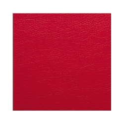 Zbytek - Koženka, červená, SOFT 25, šíře 140 cm, 50 cm