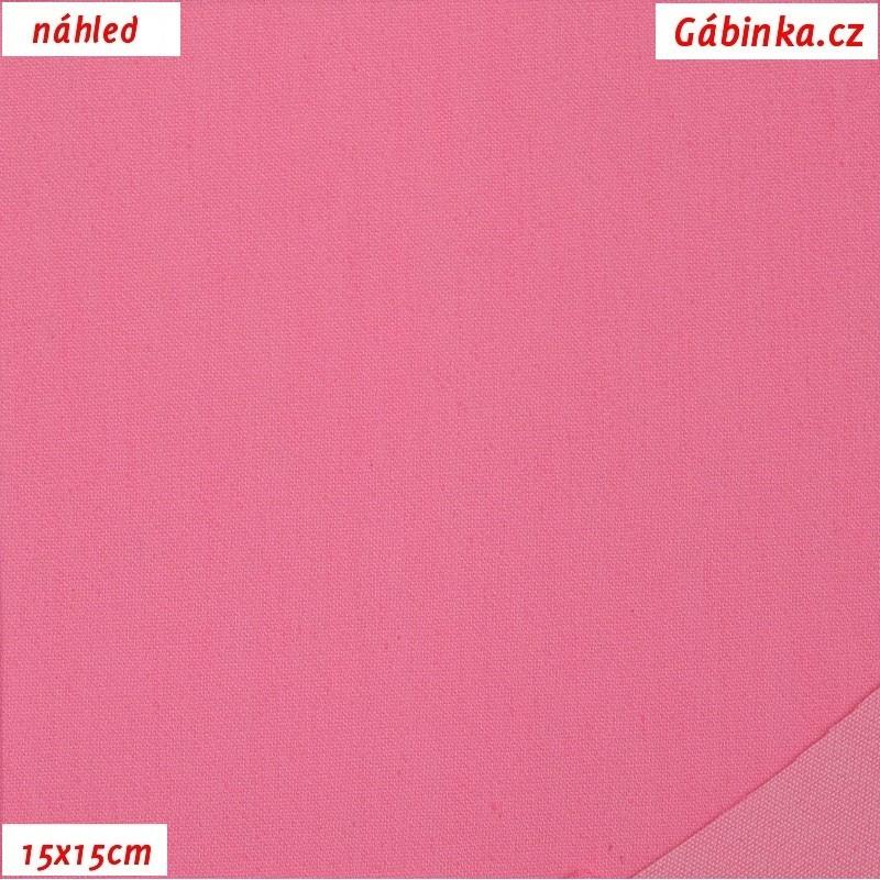 a308e77a18d2 Riflovina - Růžová jednobarevná