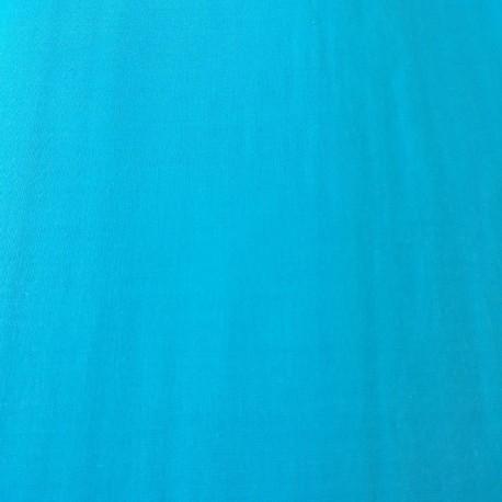 Látka, plátno - tmavě tyrkysové, šíře 140 cm, 10 cm, ATEST 1