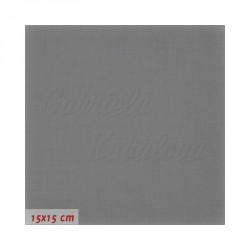 Látka, plátno - Tmavě šedá, dark grey, 145 g/m2, šíře 160 cm, 10 cm, ATEST 1