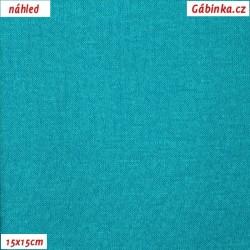 Svetrovina letní - Zelený tyrkys, 15x15 cm