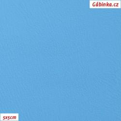 Koženka, tyrkysová hladká, H 956, šíře 145 cm, 10 cm