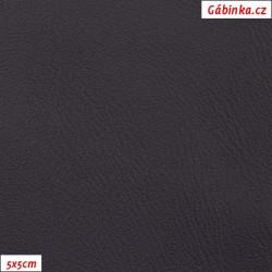 Koženka, temně fialová, H 201, šíře 145 cm, 10 cm