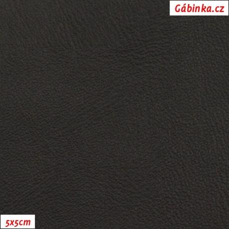 Koženka černá H22, 5x5cm