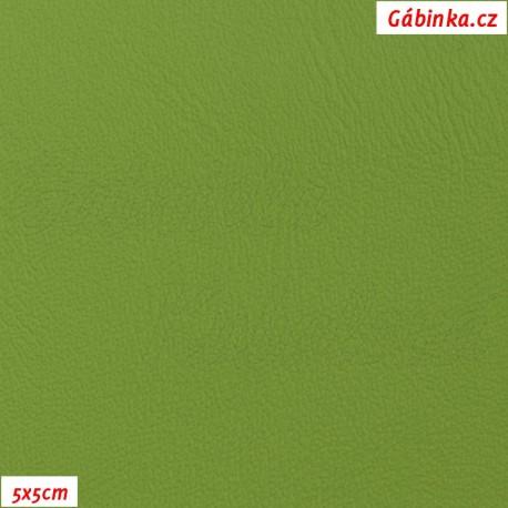 Koženka, zelená, H 187, šíře 145 cm, 10 cm