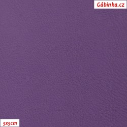 Koženka hladká tmavě fialová, 5x5cm