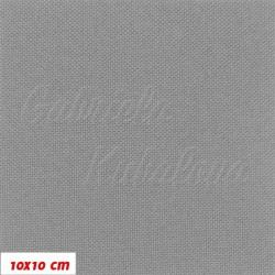 Kočárkovina MAT 218, světle šedá, 10x10cm