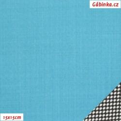 LETNÍ softshell - 10000/3000, Tyrkysový, Atest 1, šíře 150 cm, 10 cm