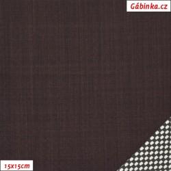 LETNÍ softshell - 10000/3000, Hnědý, Atest 1, šíře 150 cm, 10 cm