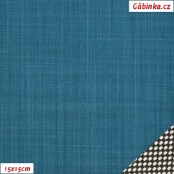 LETNÍ softshell - 10000/3000, Petrolejový, Atest 1, šíře 150 cm, 10 cm