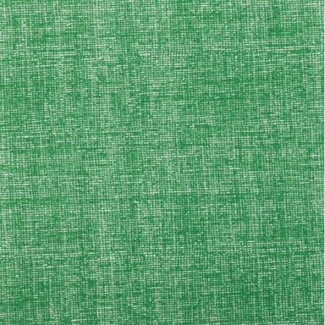 Plátno - Lněná půda tmavě zelená, Atest 1