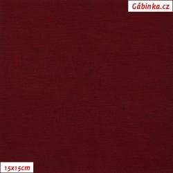 Viskóza 92-8 - bordó, 15x15 cm