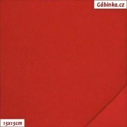 Microfleece antipilling - FLEECE441, Červený, šíře 140-155 cm, 10 cm