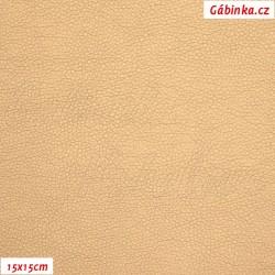 Koženka, měděná, SOFT LESK 67, 15x15 cm