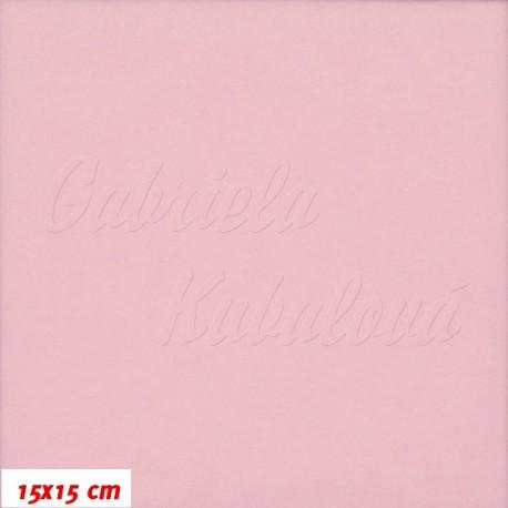 Látka micro fleece - růžová