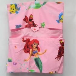 Dětský kapsář do školky - Ariel na růžové, 1 ks