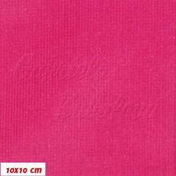 Zbytek - Manšestr, prací kord - elastický, purpurový, šíře 148 cm, 60 cm