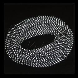 Guma, pruženka - kulatá, černá, reflexní, průměr 3 mm, 1 m
