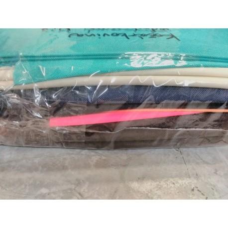 Balíček zbytků - Kočárkovina jednobarevná LESK/MAT, cca 2 kg